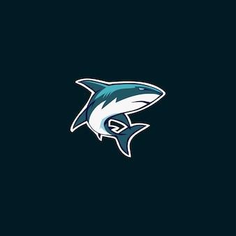 Логотип эмблемы акулы