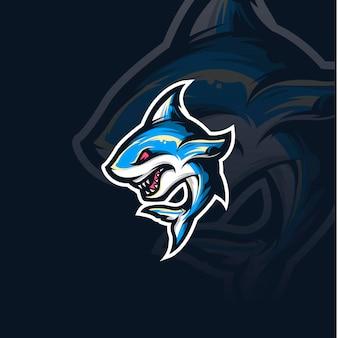 Иллюстрация талисмана акулы