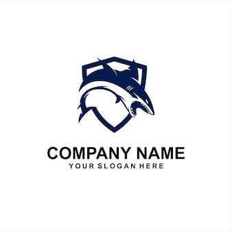 Shark security logo