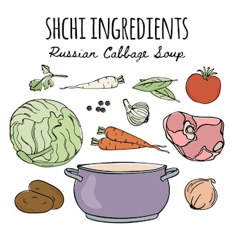 Shchiロシア料理スープレシピ