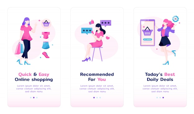 Sheconomy app introduction screen