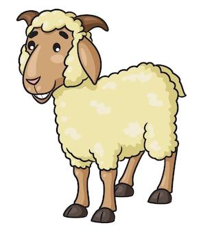 Овцы иллюстрации шаржа