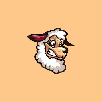 Sheep lamb logo