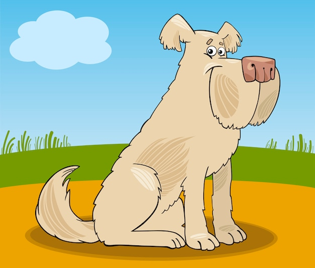 Иллюстрация собачьей собачьей собаки