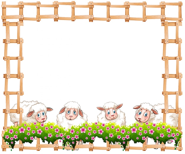 Sheeps frame