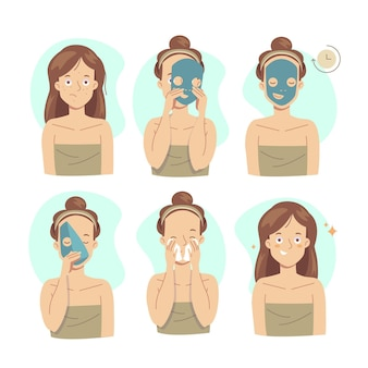 Sheet mask instructions