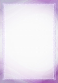 Sheet of paper with purple, violet color for background