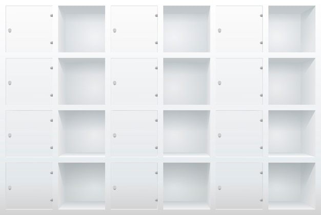 Shelves and drawers