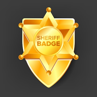 Sheriff shield