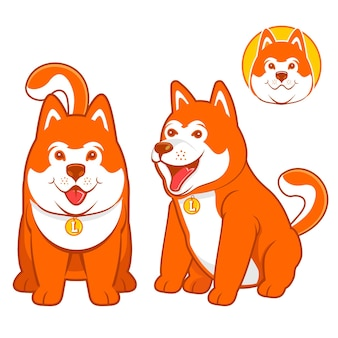 Shiba inu is one of japan's local dog breeds