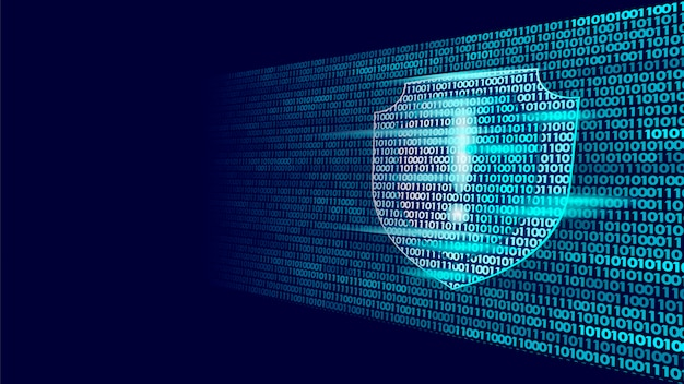 Shield guard safety system binary code flow, big data security