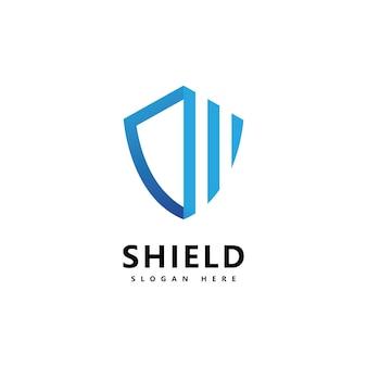 Shield logo icon design template