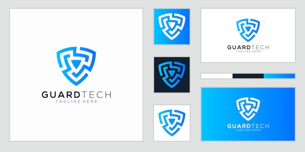 Shield logo technology for your company