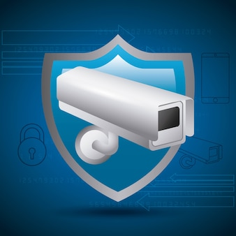 Shield protection surveillance camera privecy secret