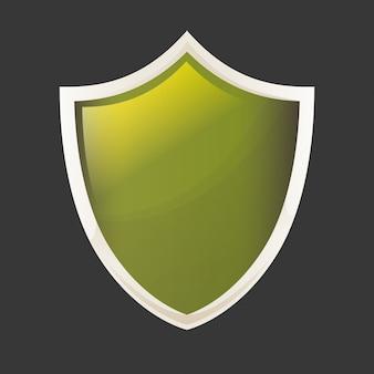 Shield shape design