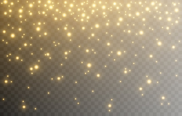 Shine. light effect, golden light. light from the sky. lights, golden shine, sparkles. png picture.