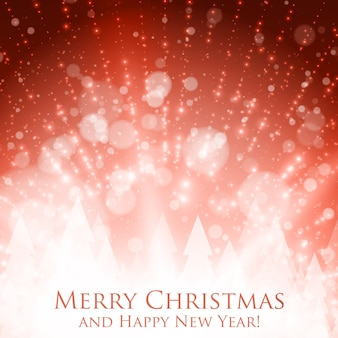 화려한 빛나는 크리스마스