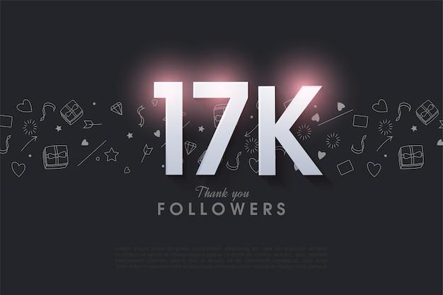 Блестящая фигура для 17 тысяч подписчиков