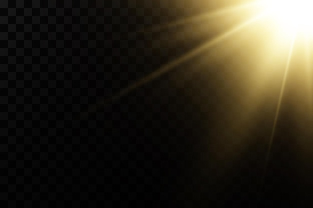 Shining golden stars isolated on black