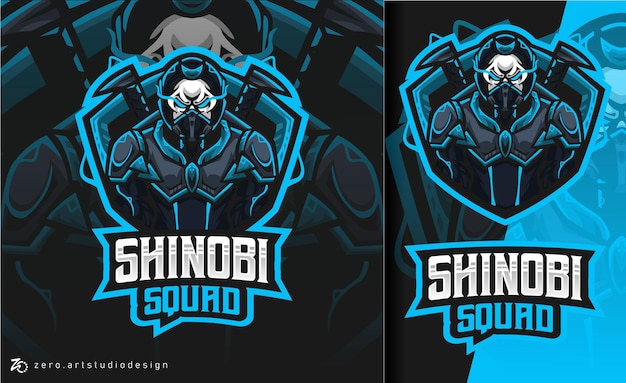 Shinobi squad esport logo