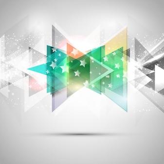 星とシャイニー抽象的な背景