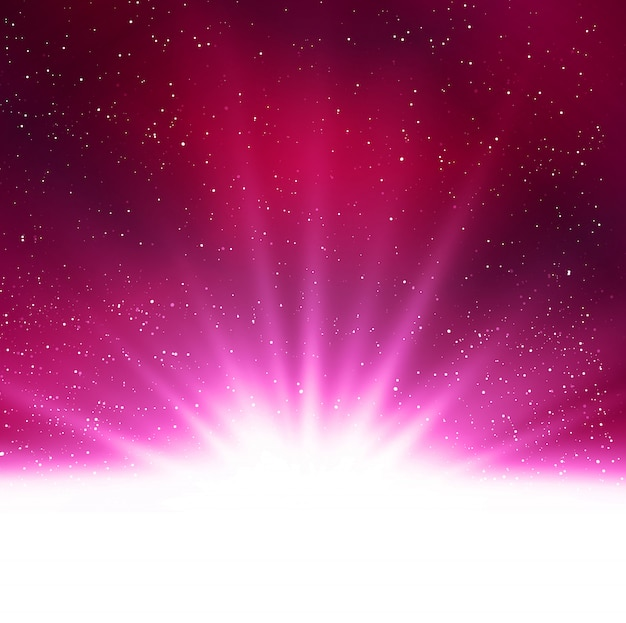 Shiny abstract magic purple light background