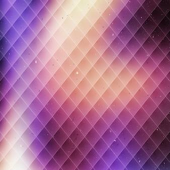 Shiny background with rhombus