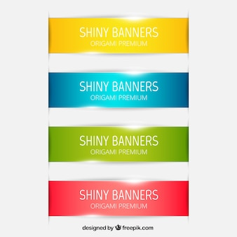 Shiny banners collection