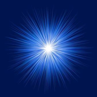 Priorità bassa blu lucida