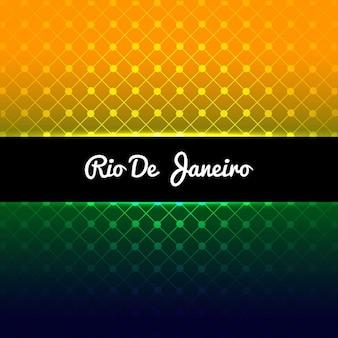 Shiny brazil colors background