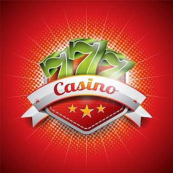 Shiny casino background