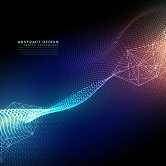 Shiny futuristic technology background