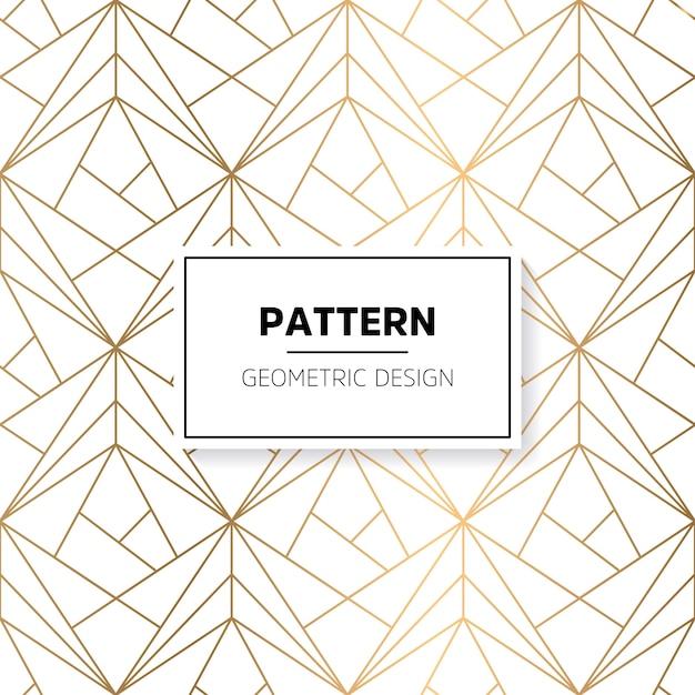 Shiny Geometric Shapes Pattern