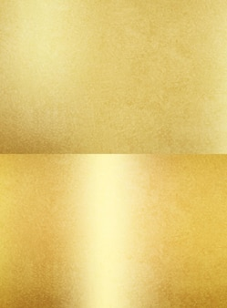 Shiny gold texture papers foil or metal