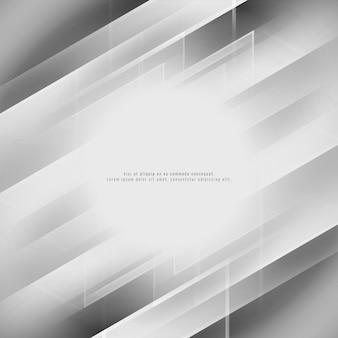 Shiny grey geometric background