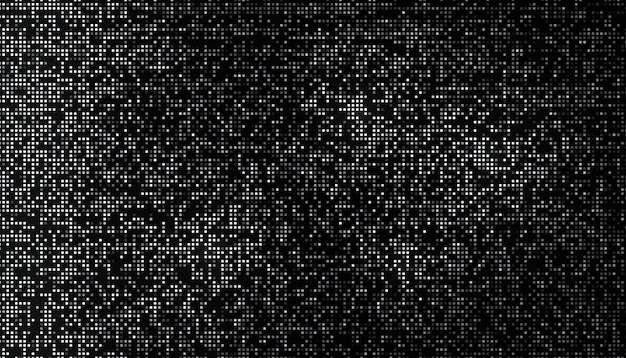 Shiny halftone pattern made of tiny square
