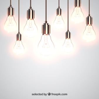 Shiny light bulbs