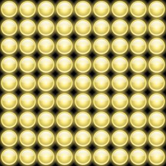 光沢のあるライトパターン