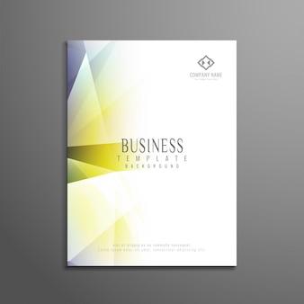 Shiny modern business brochure template