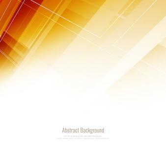 Shiny orange geometric background