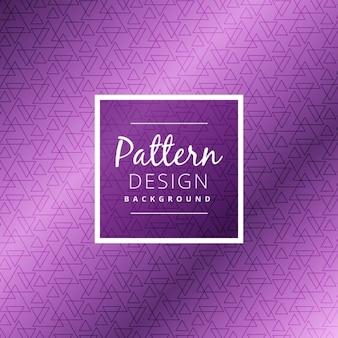 Shiny purple triangle pattern