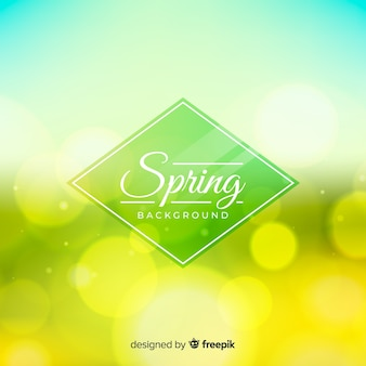 Shiny spring background