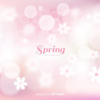 Блестящий весенний фон