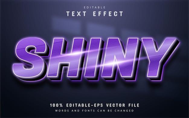 Блестящий текст, фиолетовый градиентный текстовый эффект