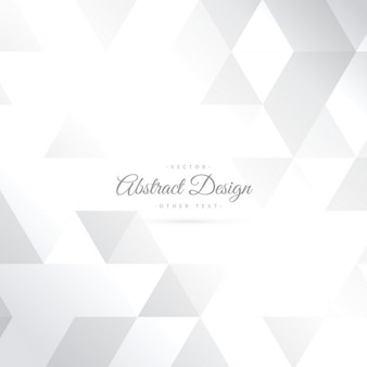 Shiny triangle shape white background