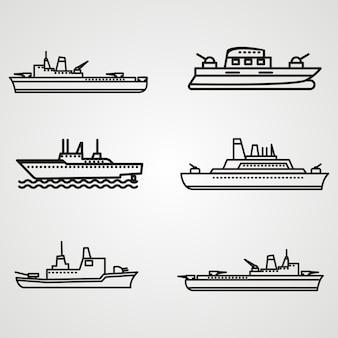 Логотип лодочного судна
