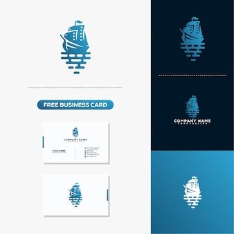 クリエイティブなロゴと名刺デザインを出荷する
