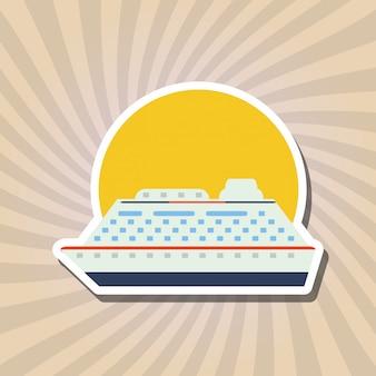 Ship icon design