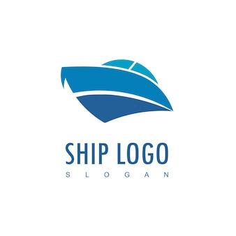 Дизайн логотипа корабля вдохновение