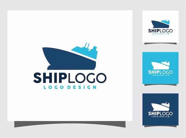 Ship logo design